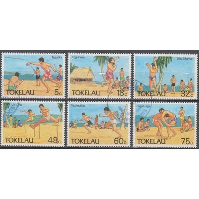 Tokelau - Sports - yt.149/54 de 1987 - Cote €6