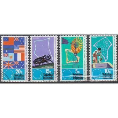 Tokelau - Commission - yt.33/36 de 1972 - Cote €9