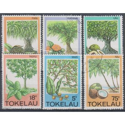 Tokelau - Arbres - yt.118/23 de 1985 - Cote €5