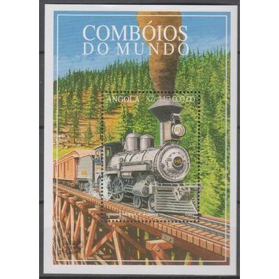 Angola - Locomotive - yt.BF31 neuf ** - Cote €6