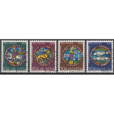 Suisse - Pro patria - yt.807/10 de 1968 - Cote €2