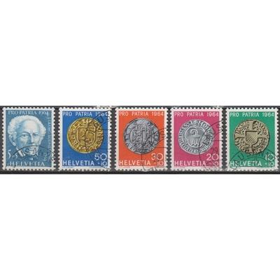 Suisse - Prop patria - yt.730/34 de 1964 - Cote €3