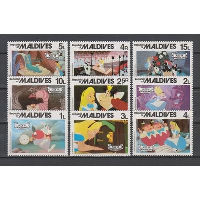 Maldives - Série disney - Cote €6.50