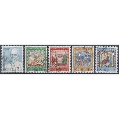 Suisse - Propatria - yt.786/90 de 1967 - Cote €1,75