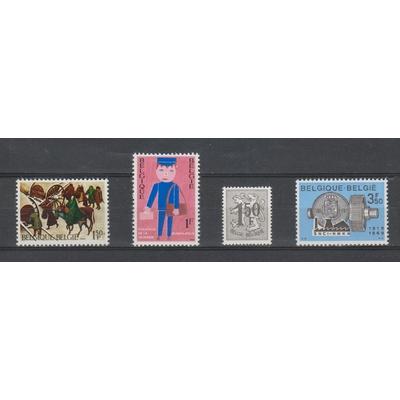 Belgique - Petit lot de timbres neufs ** de 1969 - cote €0,90