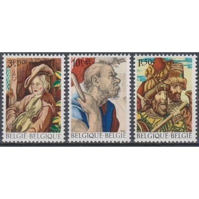 Belgique - Tableaux - yt.1505/07 neufs ** - Cote €1.80
