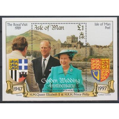 Man - Elizabeth II - yt.BF34 neuf ** - cote €5