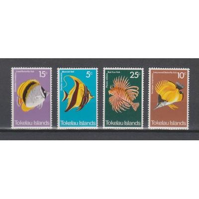 Tokelau - Poissons exotiques - Cote €15.50