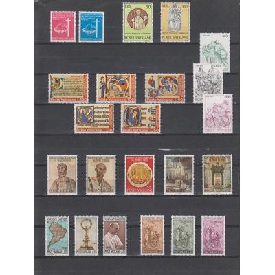 Vatican - Belle collection de timbres neufs ** (2 photos) - Cote €11.40