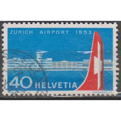 Suisse - Aviation - yt.536 - Cote €12