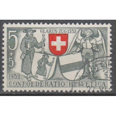 Suisse - Patrie - yt.521 - Cote €0.80