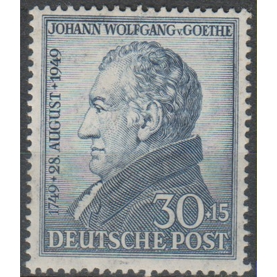 Allemagne - Bizone - Goethe - yt.81 neuf * - Cote €7.50