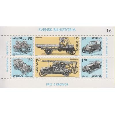 Suède - Automobiles - yt.BF8 neuf ** - Cote €4