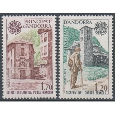 Andorre - Europa - yt.276/77 neufs ** - Cote €12