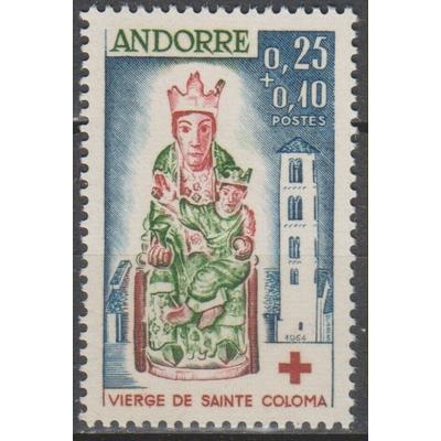 Andorre - Croix Rouge - yt.172 neuf ** - Cote €35