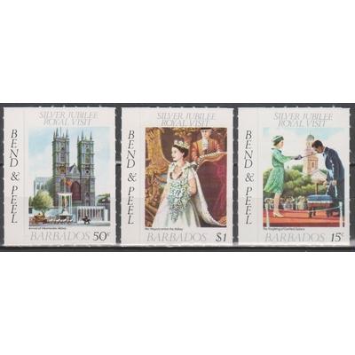 Barbade - Elizabeth II - Ex-carnet -Neufs **