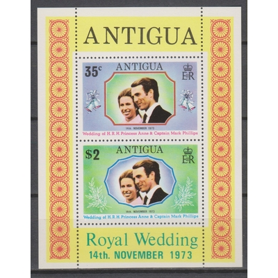 Antigua - Royauté - yt.BF10 neuf ** - Cote €3