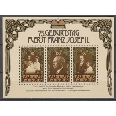 Liechtenstein - François Joseph II - yt.BF14 neuf ** - Cote €5