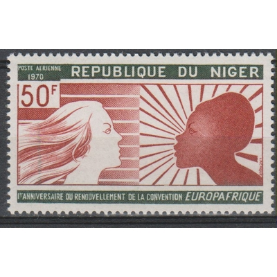 Niger - Europafrique - yt.A134 neuf ** - Cote €0.90
