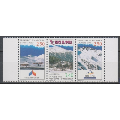 Andorre - Ski - yt.429A neuf ** - Cote €5.10