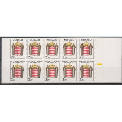 Monaco - Carnet de 1988 neuf ** - Cote €11.50