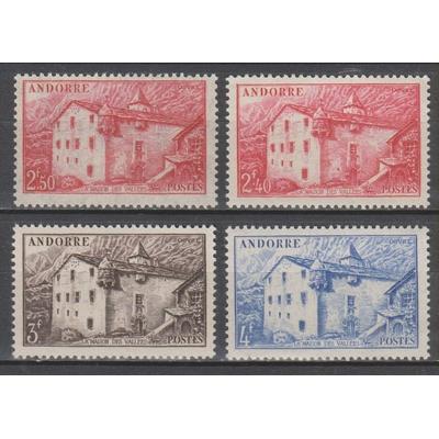 Andorre - Maison des Vallée - yt.104/07 neufs ** - Cote €10.70