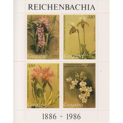 Guyane - Orchidées - Feuillet neuf **