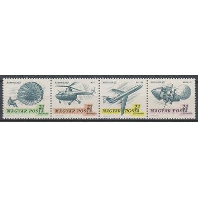 Hongrie - Espace et aviation - yt.A296/99 neufs ** - Cote €6