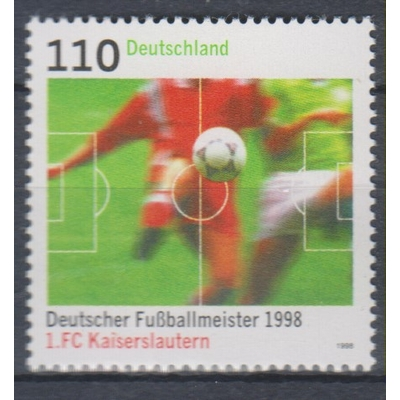 Allemagne - Football - yt.1842 neuf ** - Cote €1.75