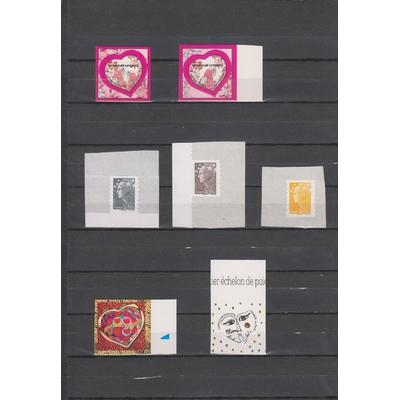 France - Collection de timbres adhésifs neufs** - Cote €21