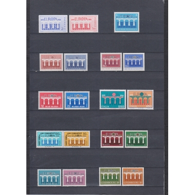 Europa - Collection de séries neuves** de 1984 - Cote €76