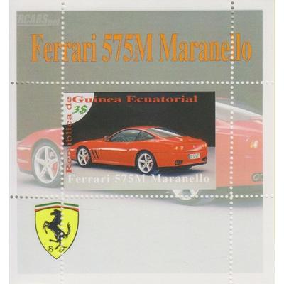 Guinée Equatoriale - Ferrari - Feuillet neuf **
