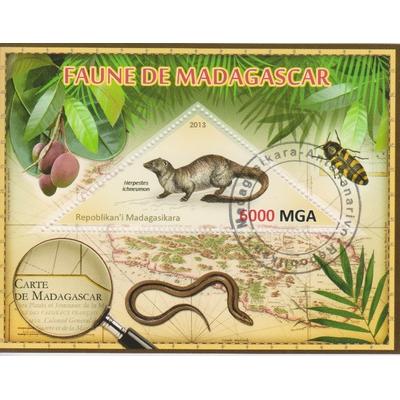 Madagascar - Petits mammifères - Feuillet de 2013