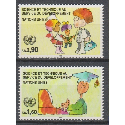 Nations-Unies - Science - yt.233/34 neufs ** - Cote €4.70