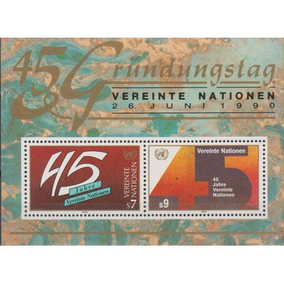 Nations-Unies - 45 ans - yt.BF5 neuf ** - Cote €4.90