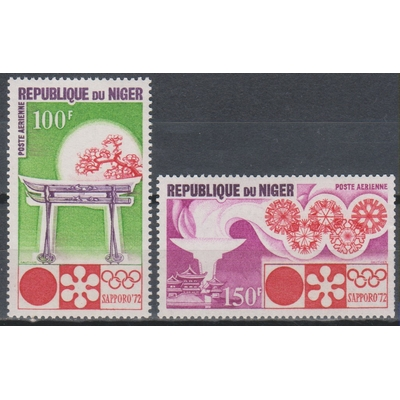Niger - Jeux olympiques - yt.A174/75 neufs ** - Cote €3.75