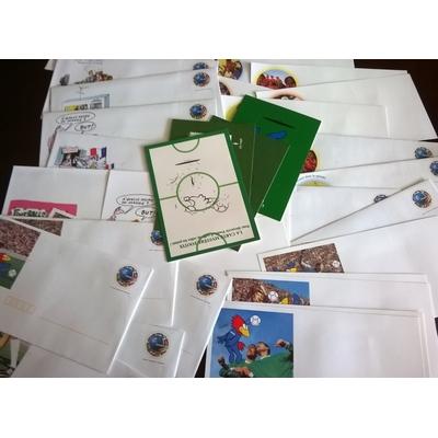 France - Collection d'entiers postaux France'98 (12 photos) - Faciale €19