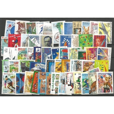 France - Ensemble de timbres grands-formats