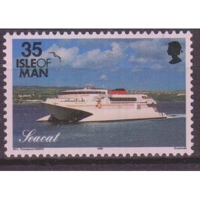 Ile de Man - Bateaux - yt.698 neuf ** - Cote €1.75