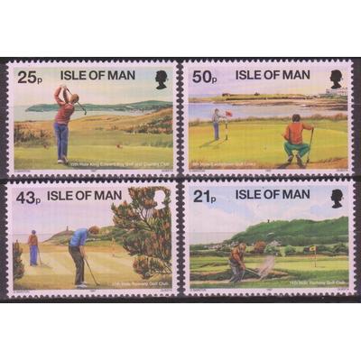 Ile de Man - Golf - yt.768/71 neufs ** - Cote €7