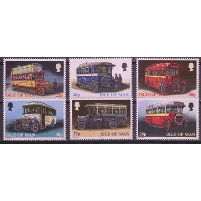 Ile de Man - Autobus - yt.860/65 neufs ** - Cote €9.50