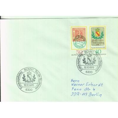 Allemagne - Exposition - Enveloppe 1er-jour de 1978