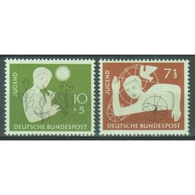 Allemagne - Jeunesse - yt.111/12 neufs ** - Cote €11