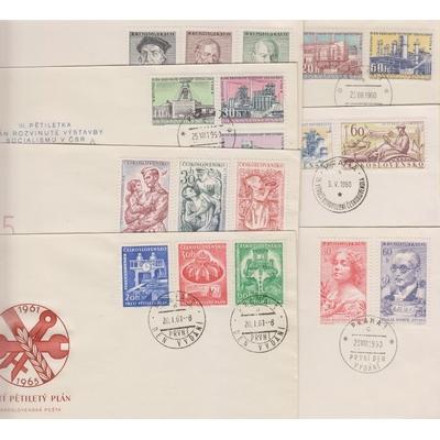 Tchécoslovaquie - Enveloppes 1er-jour