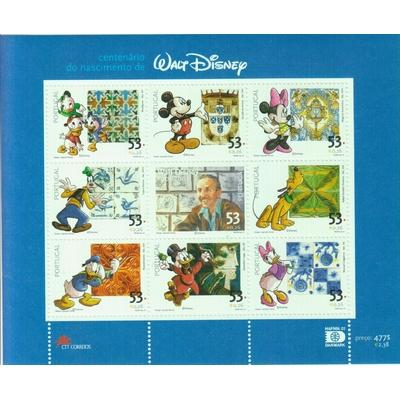 Portugal - Walt Disney - yt.2522/30 neufs ** - Cote €6