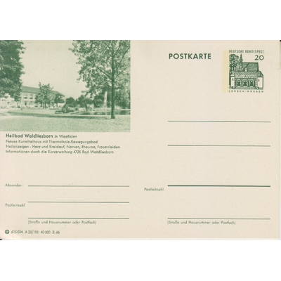 Allemagne - Entier-postal neuf **