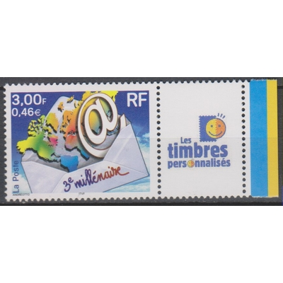 France - Timbre personnalisé - yt.3533A neuf ** - Cote €5