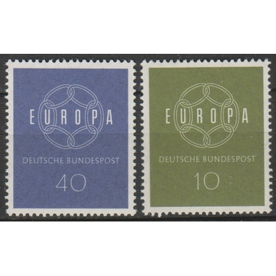 Allemagne - Europa de 1959 - yt.193/94 neufs ** - Cote €2.50