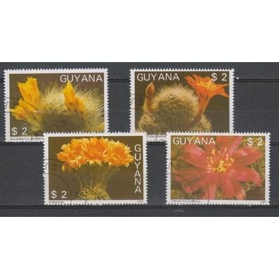 Guyane - Fleurs de cactus - Série de 1987