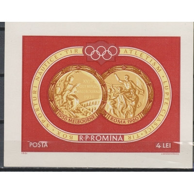 Roumanie - Jeux olympiques - yt.BF51 neuf ** - Cote €18.50